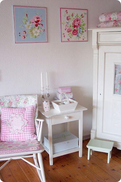 lovely little #shabby corner