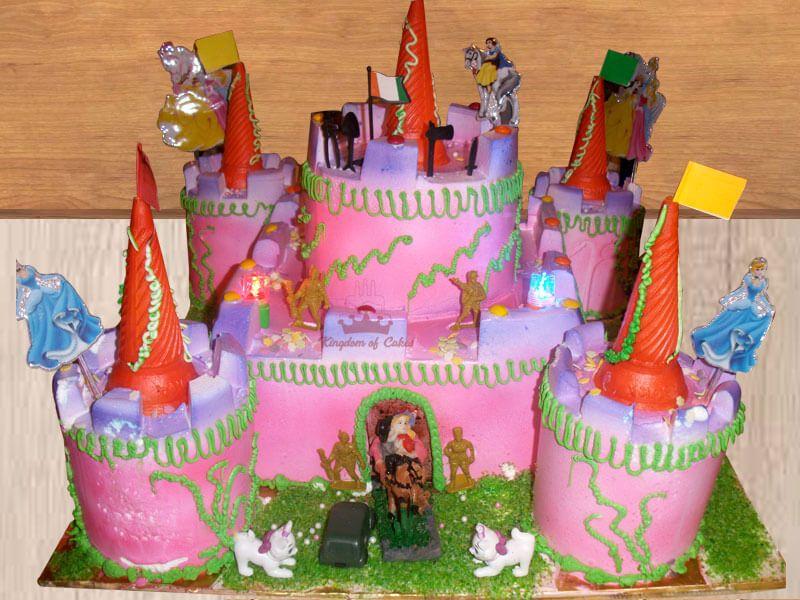 Brilliant Order Online Castle Cake For Kids Unique Designer Birthday Cakes Personalised Birthday Cards Sponlily Jamesorg