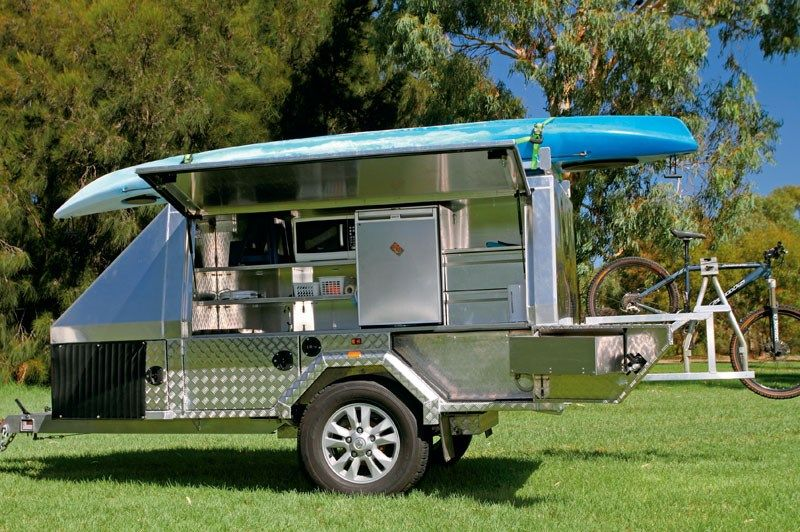 Charming Camping Porn: The Ultimate Portable Camp Kitchen #camping #trailers  #australia