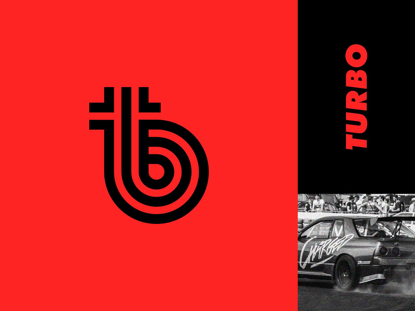 Turbo Turbo Logo Design Creative Logomark Design