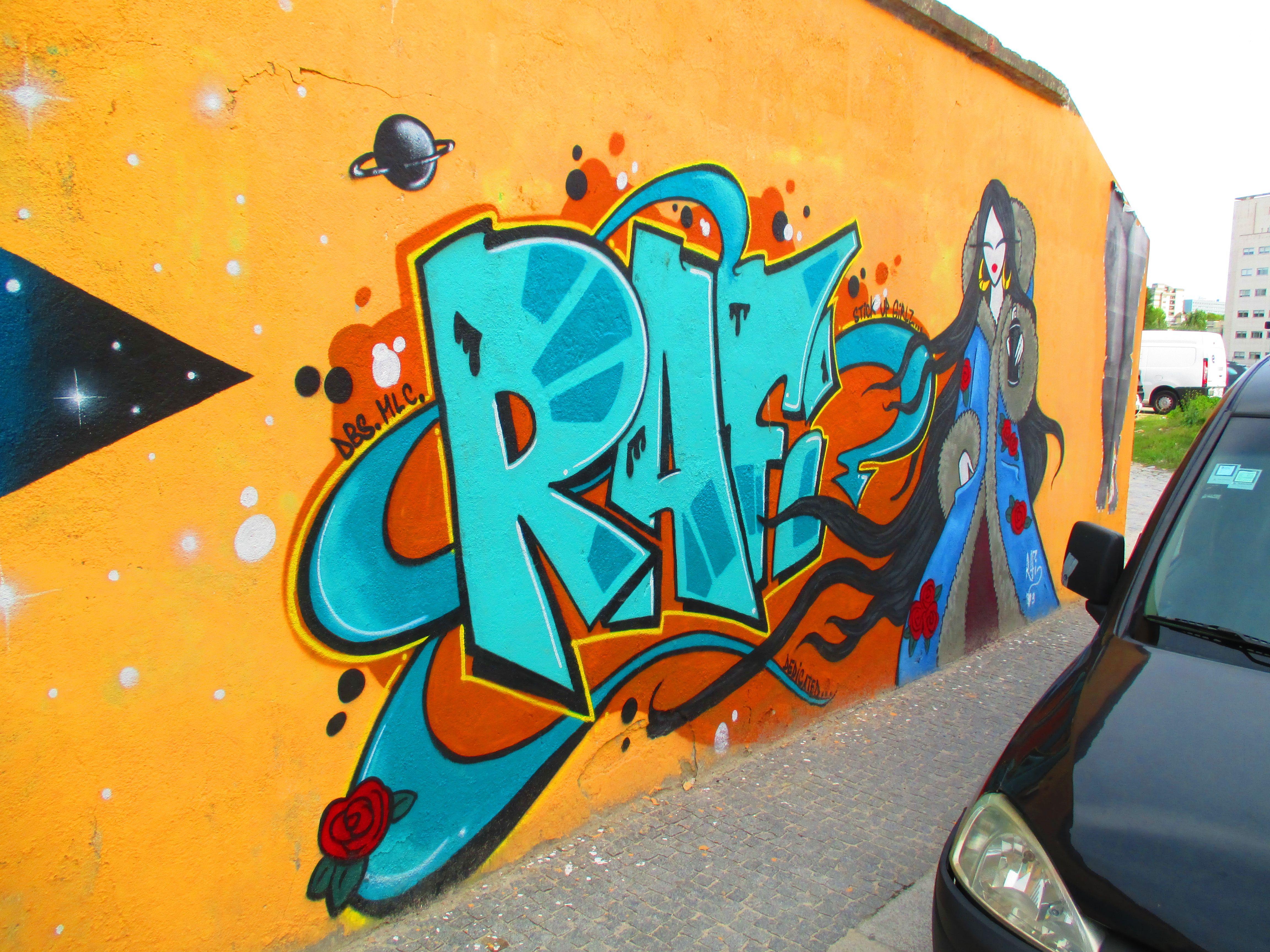 Rafi Macbeth Magenta Singularidades Femininas Em Contexto Urbano   Graffiti Drawing
