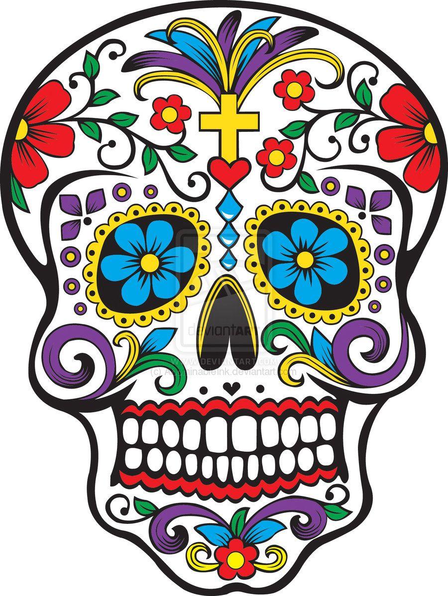 Cest La Vie Día De Los Muertos Calaveras Decoradas