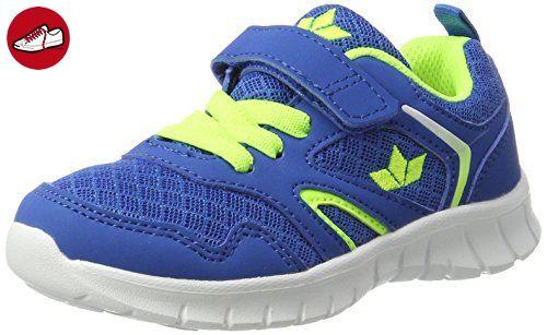 Jungen Skip Vs Sneaker, Blau (Marine/Lemon), 33 EU Lico
