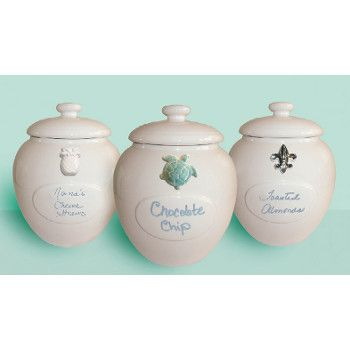Customized Ceramic Cookie Jar Kitchen Canister Sets Canisters