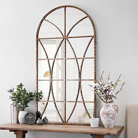 Kirkland S Tuscan Decorating Mirror Decor Living Room Arch Mirror