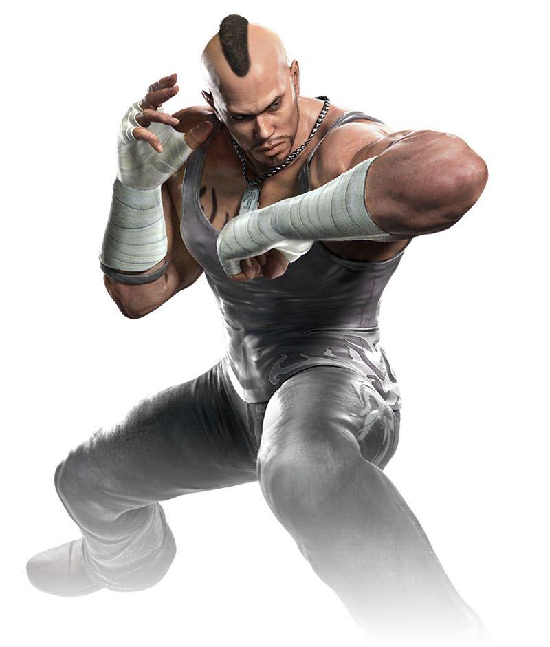 Bruce Irvin Alternate Costume From Tekken Mobile Game Character Design Bruce Irvin Mobile Art