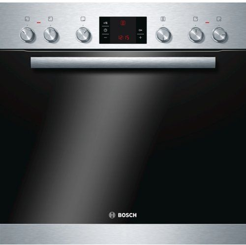 Bosch HND72PS55 Backofen-Kochfeld-Kombination / A / 66 L / edelstahl / 3D Hei�luft Plus / ein Zweikreis-Kochzone