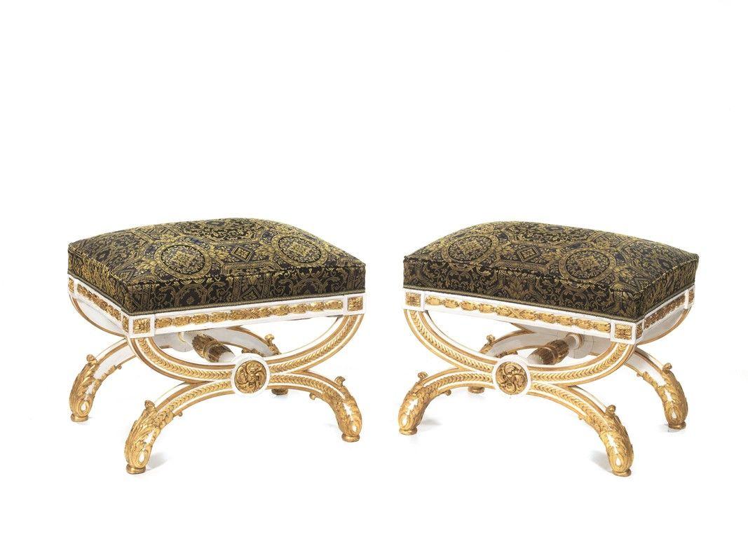 Bianco beige tavolo da trucco in legno con seduta imbottita in