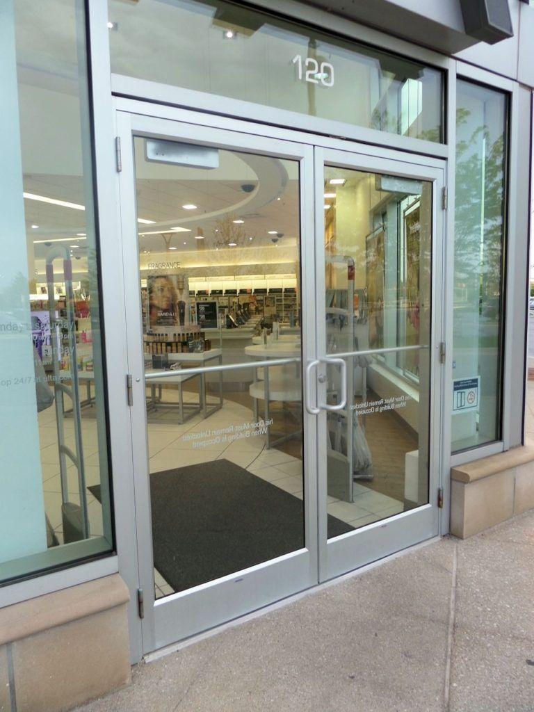 Kawneer Door Glass Stops