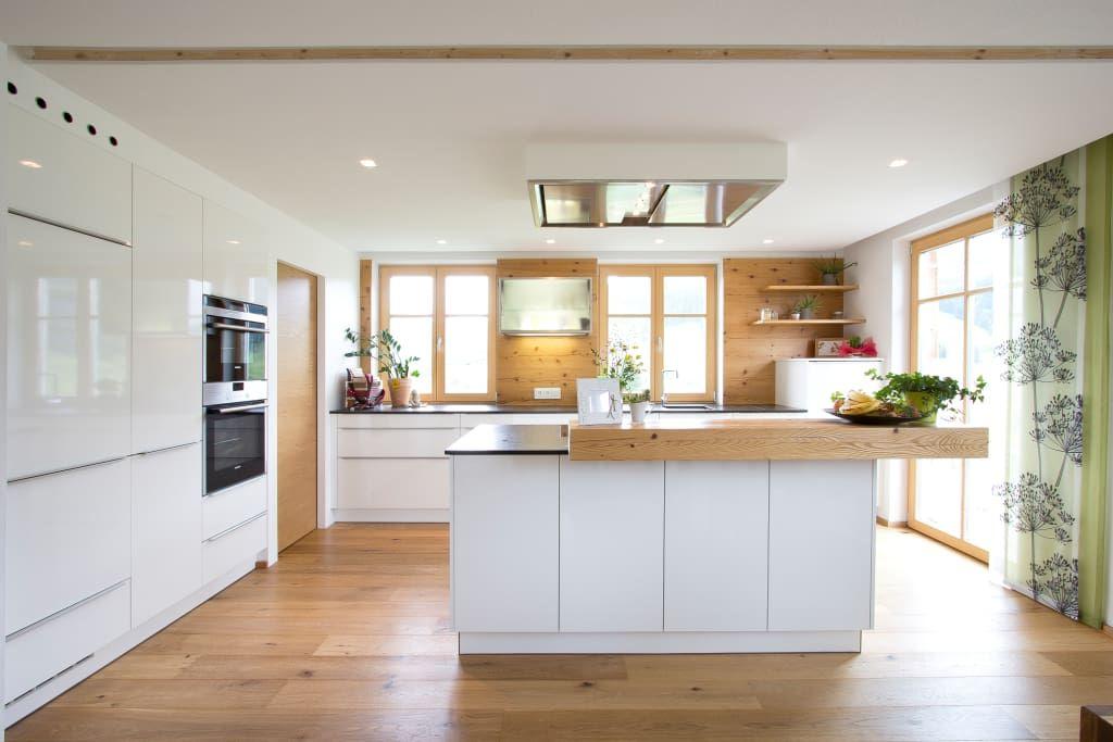 Wohnideen, Interior Design, Einrichtungsideen \ Bilder weiße - küchen in holzoptik