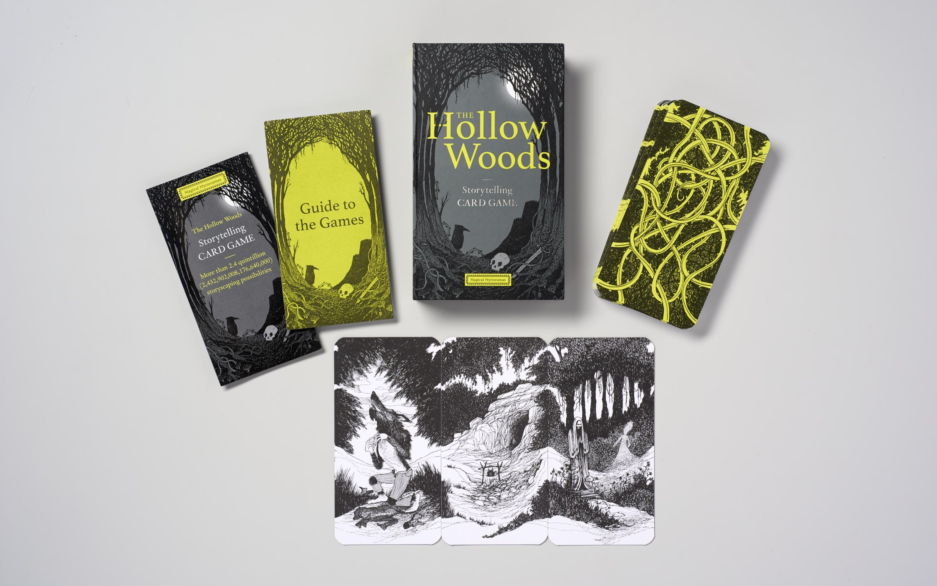 Image result for Hollow Woods: Storytelling Card Game
