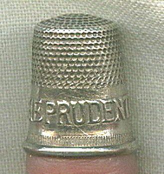 1 Prudential Life Insurance Vintage Thimble Metal Thimbles Best