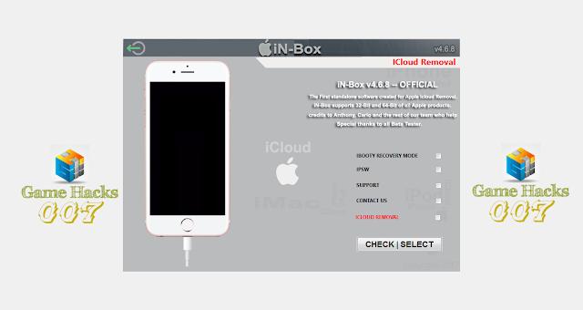 Free Download Tool Unlock iCloud In-Box V4 8 0 New Update