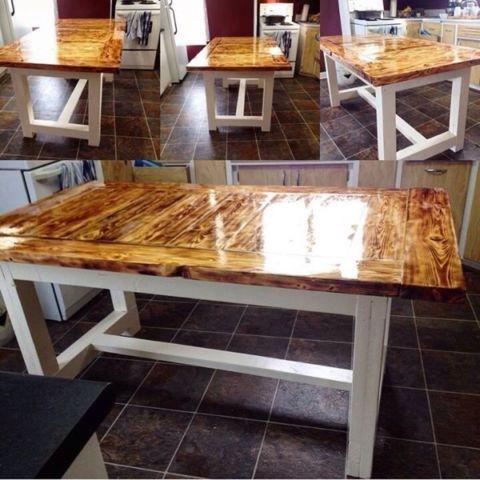 Solid Wood Farmhouse Table Dining Tables And Sets Saskatoon