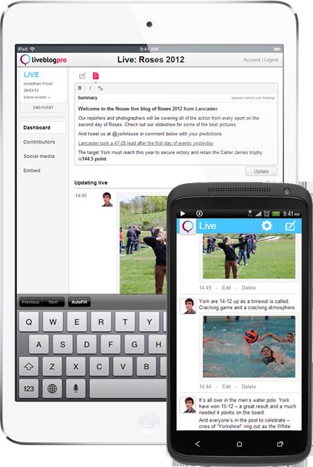 Liveblog Pro. un nouvel outil pour du liveblogging en temps réel.