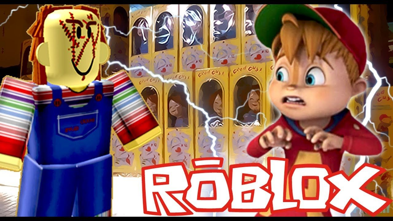 Chipmunk Vs Chucky On The Horror Elevator Roblox Roblox