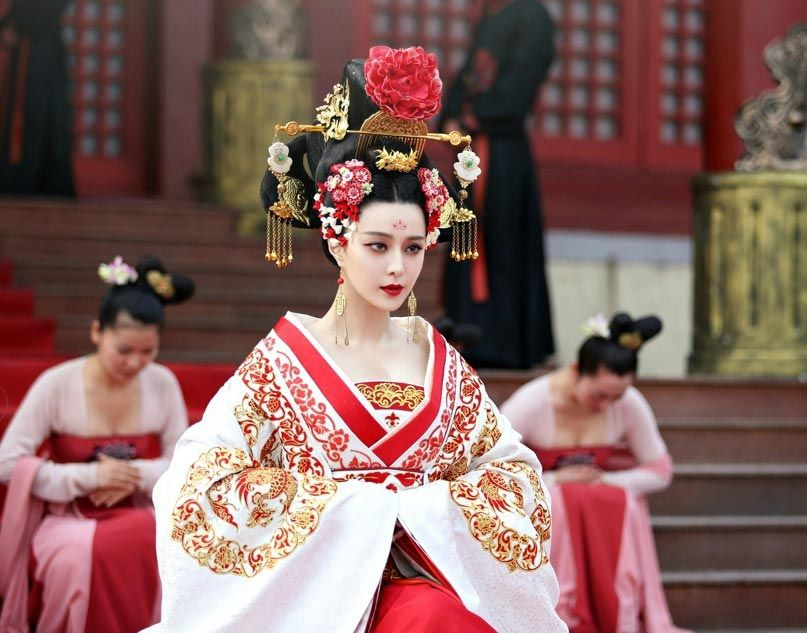 Image result for the empress of china costume