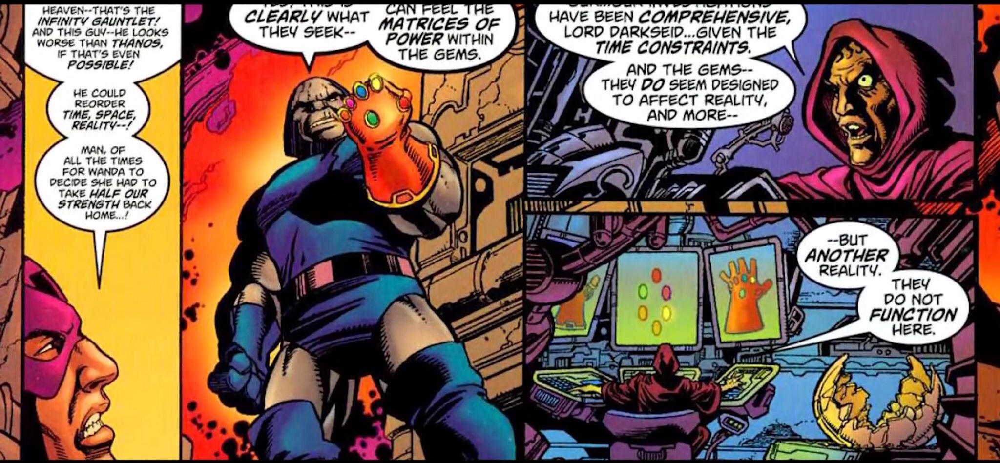 Apocalypse, Darkseid, and Thanos: A Guide to Big Blue ... |Darkseid Infinity Gauntlet
