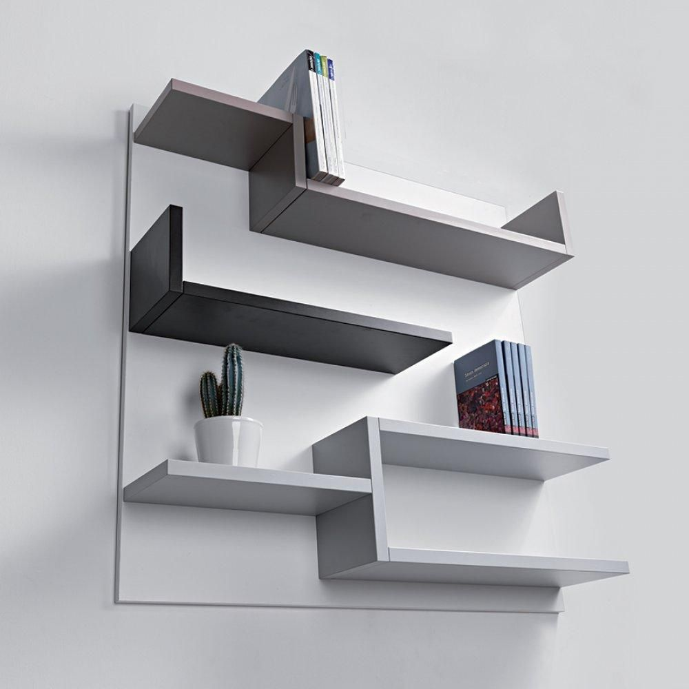 Bibliotheque Murale Design Myshelf Fond Blanc In 2020