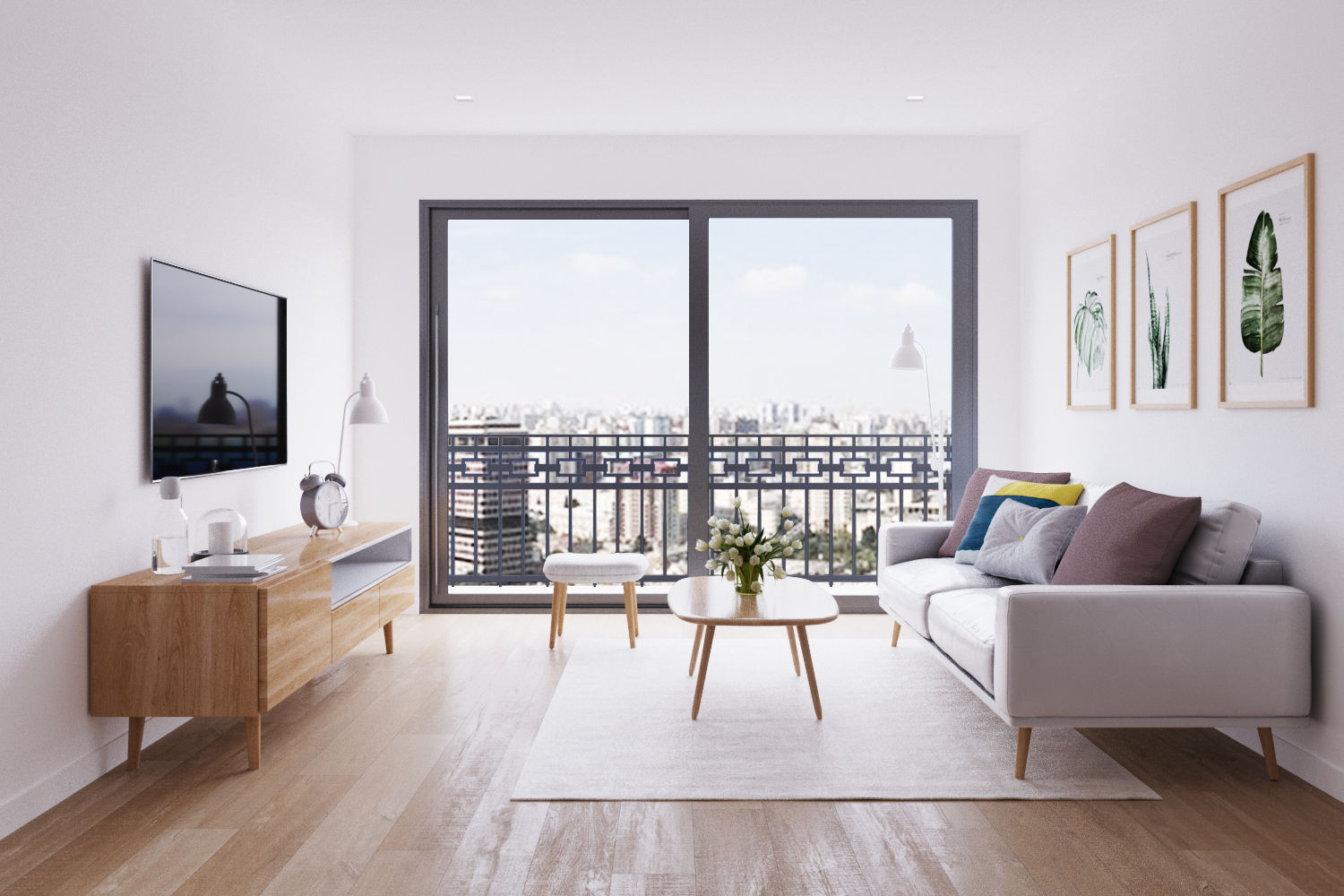 Check Out My Behance Project Apartment In Canada Interior