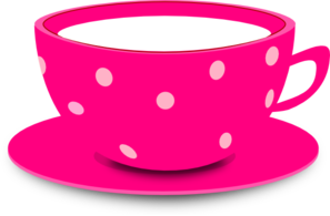 tea cup pink clip art vector clip art online royalty free rh pinterest com tea cup clip art free images teacup clipart black and white