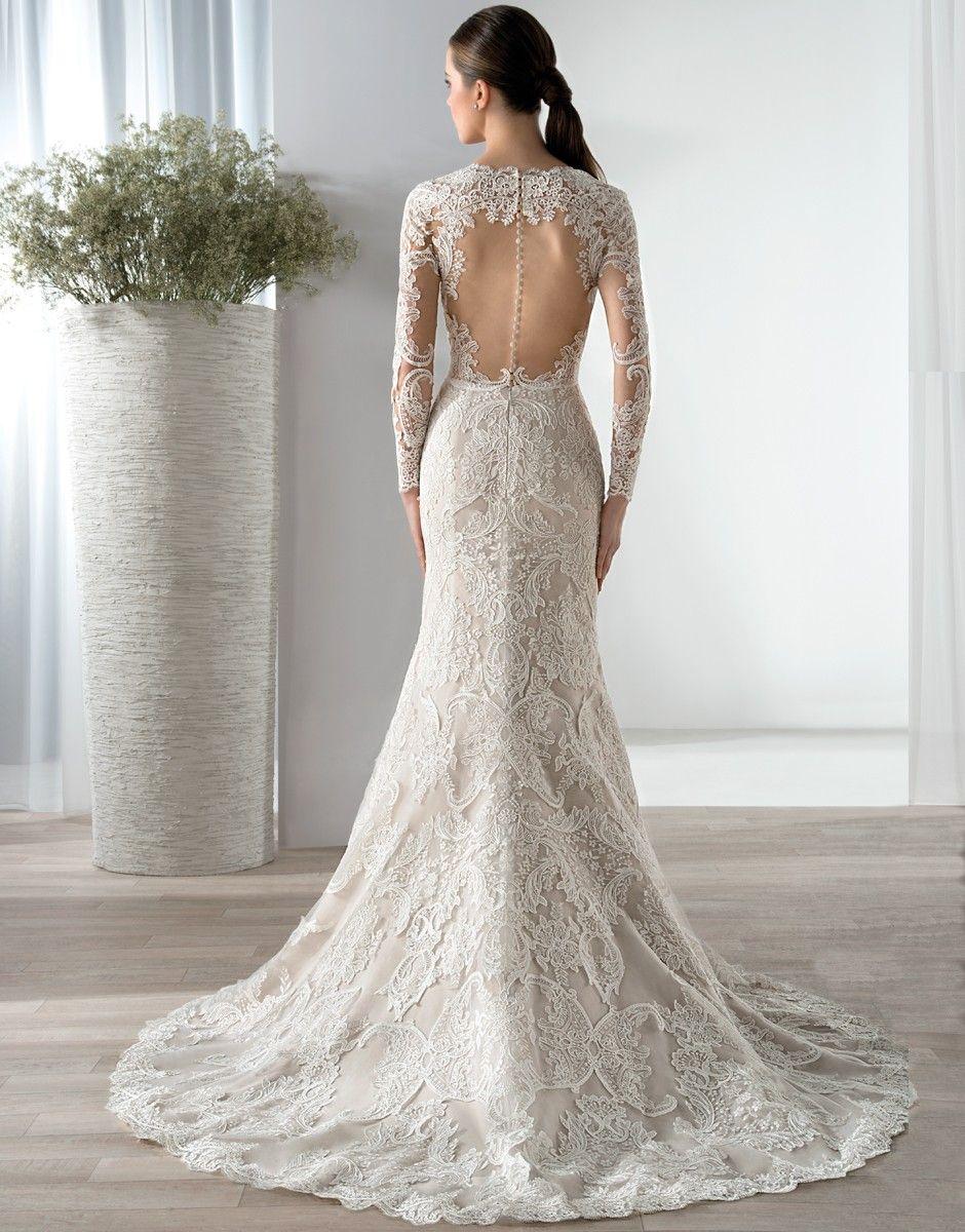 vestido de novia BUNDA