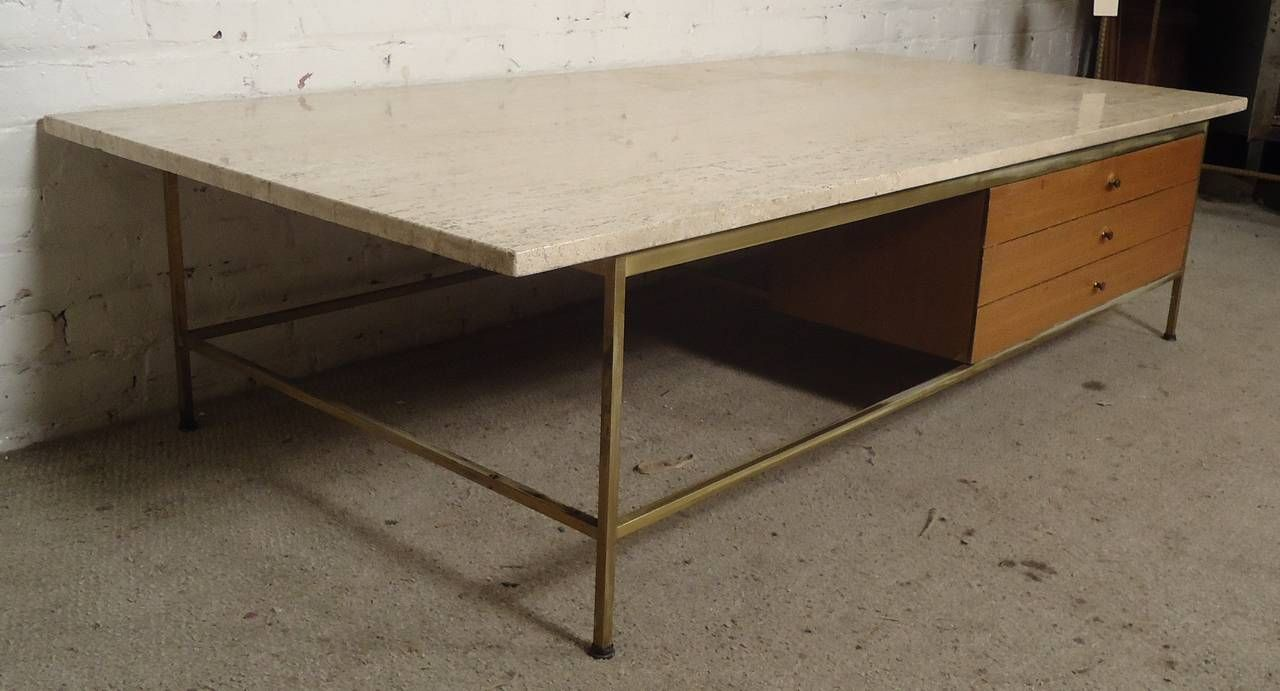 Marble Top Coffee Table Designed By Paul Mccobb For Calvin Marble Top Coffee Table Coffee Table Coffee Table Furniture [ 691 x 1280 Pixel ]