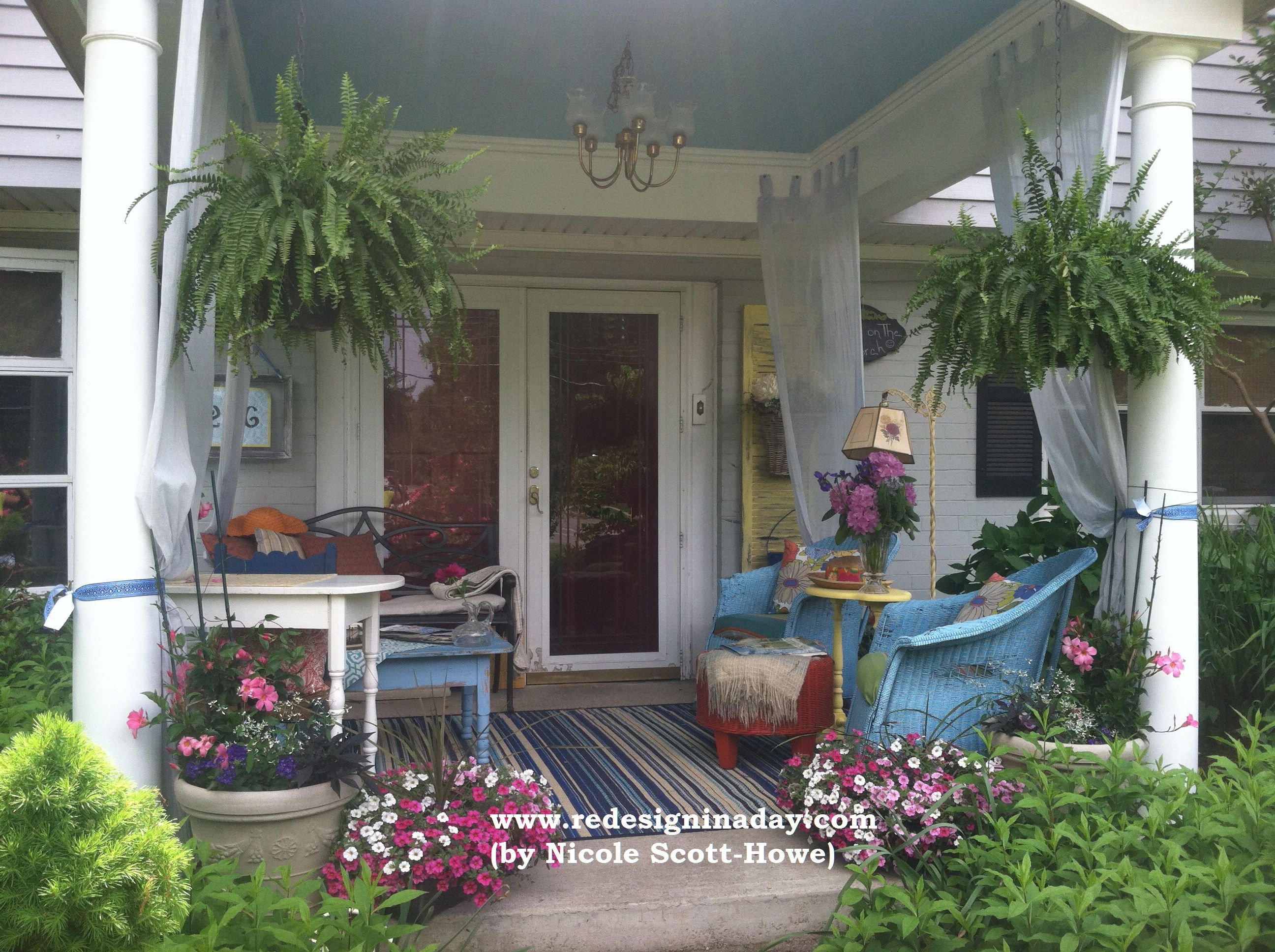 Front Porch Makeover 2015