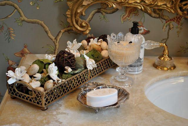 seven on sunday  enchanted home romantic bathrooms
