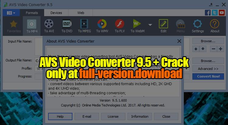 avs video editor full crack 64 bit