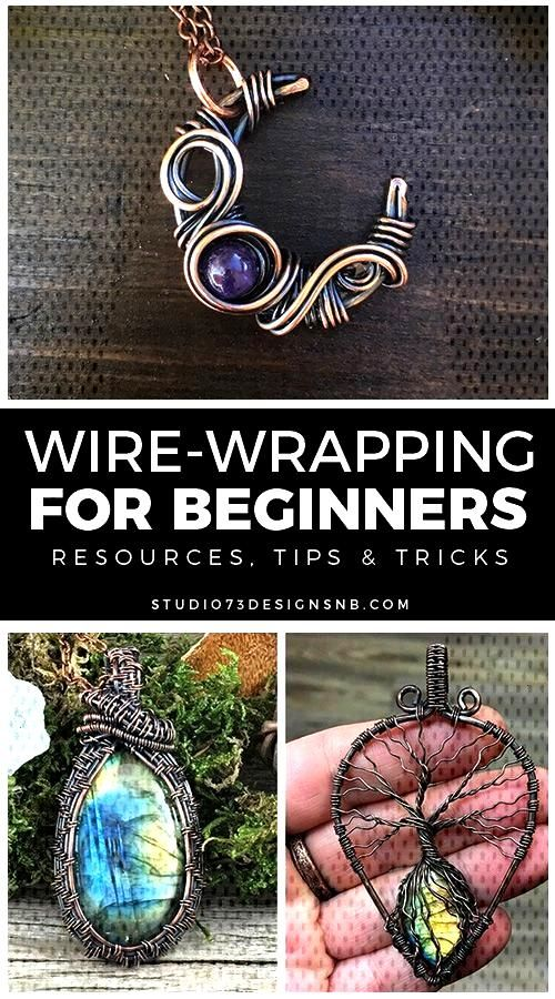 Wire-Wrapping for Beginners * Wire Tutorials for beginners List of resources, tips & tricks for wir