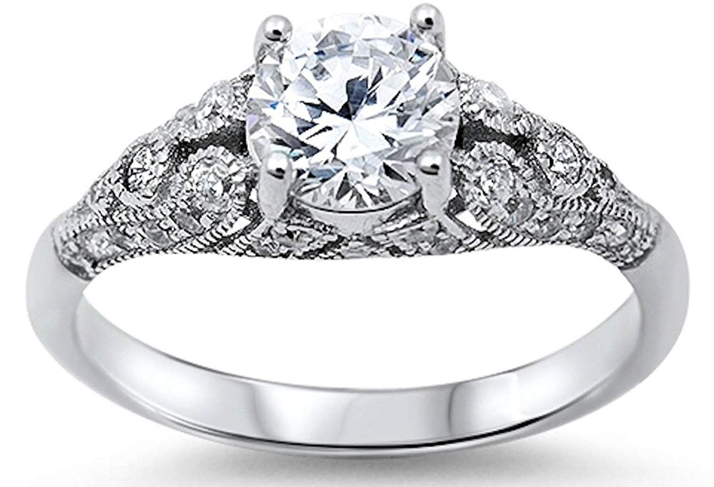 41++ Sterling silver womens wedding ring info