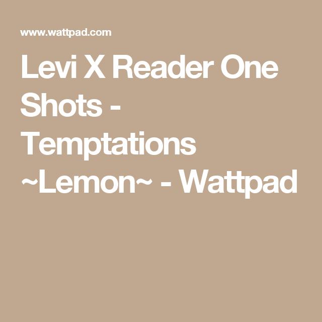 Levi X Reader One Shots - Temptations ~Lemon~ | Attack on