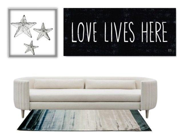 """Beach house living room"" by originallay on Polyvore"