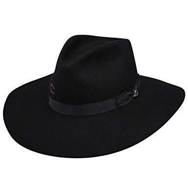 8ce02b642d013 Charlie 1 Horse Highway Felt Hat- Black