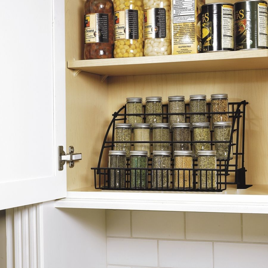 Lowes Spice Rack Awesome Shop Rubbermaid Coated Wire Incabinet Spice Rack At Lowes Design Ideas