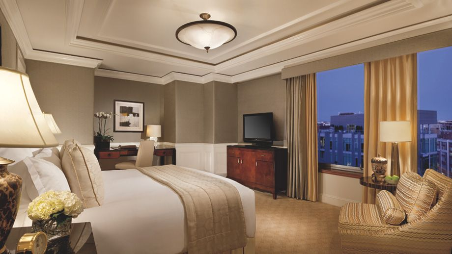 The Ritz-Carlton Suite Bedroom
