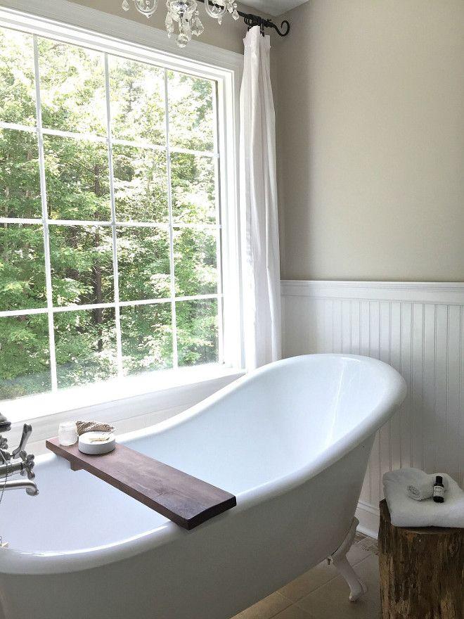 Farmhouse Bathroom Clawfoot Slipper Tub from Vintage Tub. When built ...