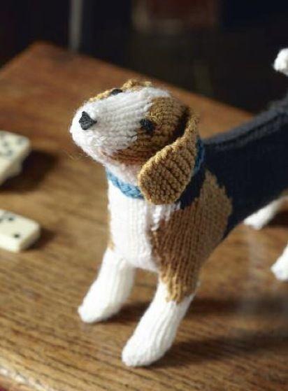 Free Beagle Dog Knitting Pattern | Knitting - Free Patterns ...