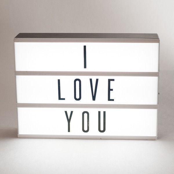inspired by retro cinema signs my cinema lightbox is a new way to show your
