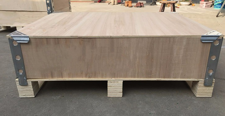 Pallet Collar Thickness 5 18mm Foldable Wooden Create Collapsible Wooden Create Size Can Be Customerized Pallet Collars Storage Bench Wooden
