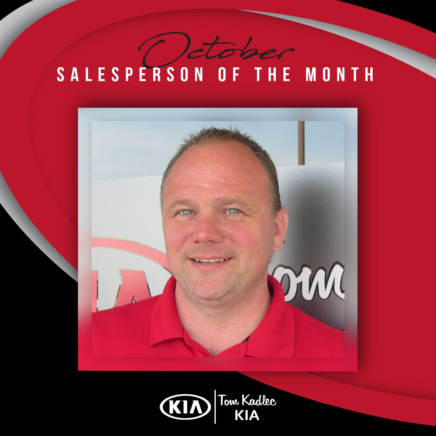 Congratulations To Our October Salesperson Of The Month Mike Danielson Keep Up The Great Work Kia Salesperson Used Cars