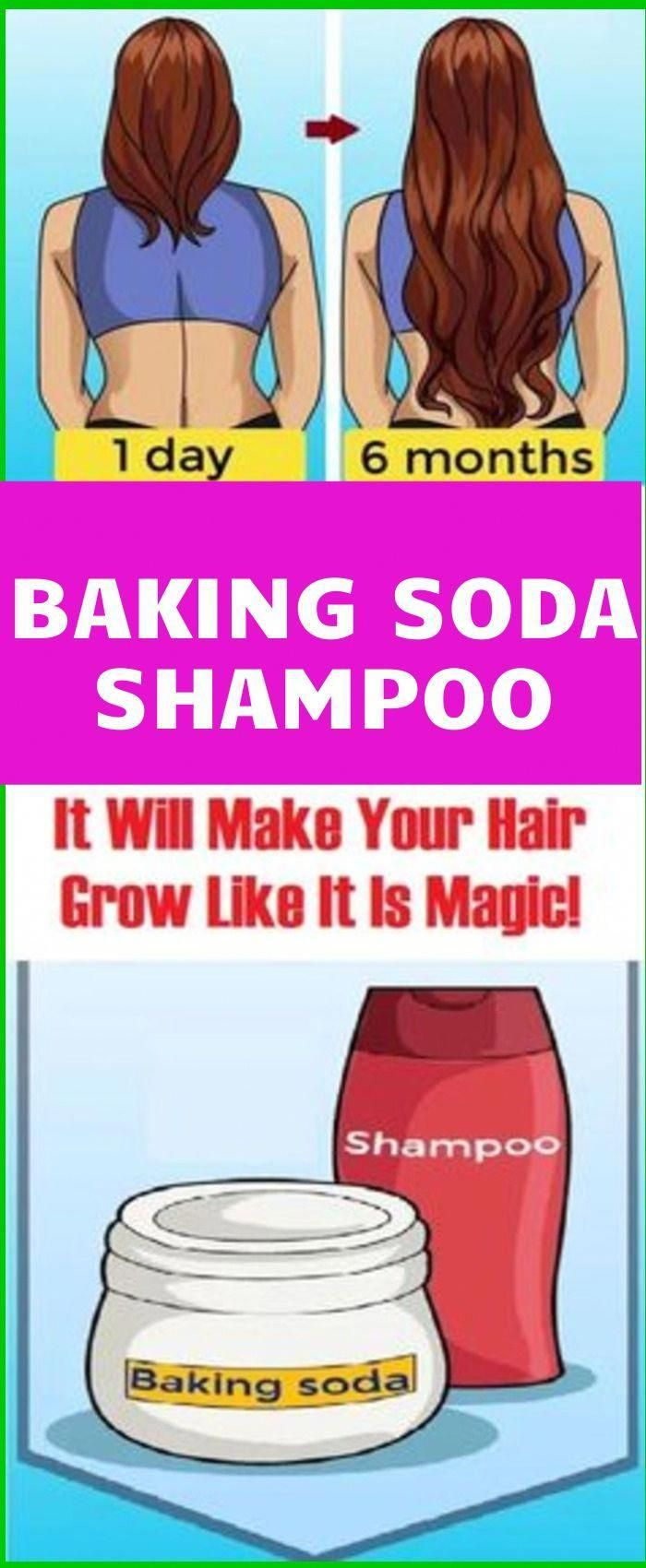 Baking Soda Shampoo: It Will Make Your Hair Grow Faster