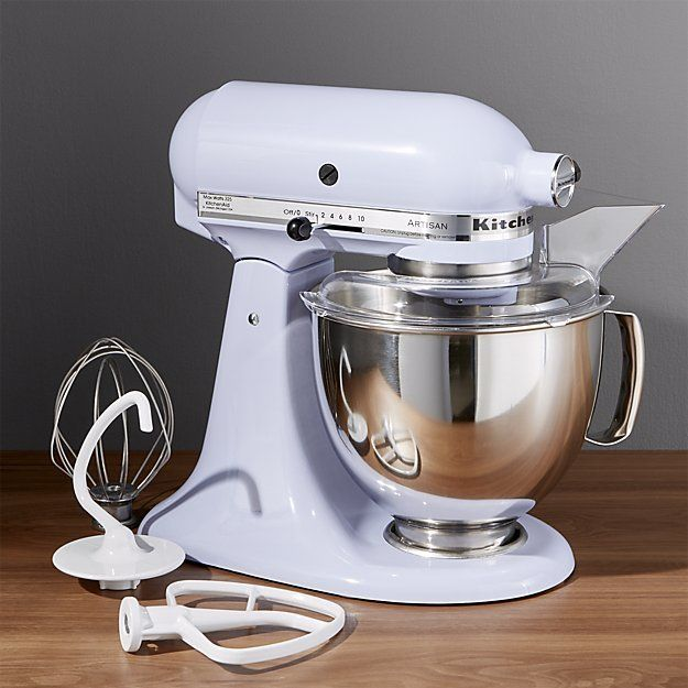 Crate \ Barrel KitchenAid ® Artisan Lavender Cream Stand Mixer - kitchenaid küchenmaschine rot