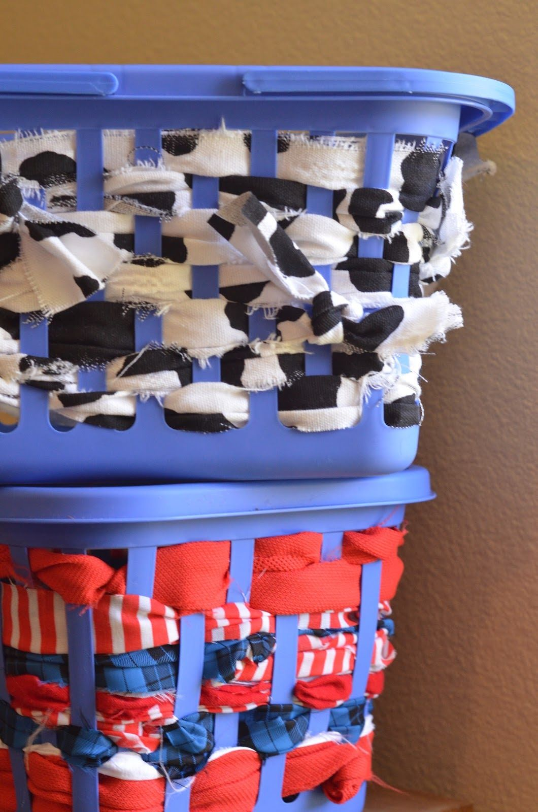 More Scrap Fabric Baskets #scrapfabric