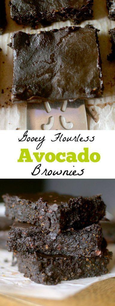 Gooey Flourless Avocado Brownies (Paleo, Vegan + Gluten-Free!) Flourless Avocado Brownies (Paleo, Vegan + Gluten-Free!)