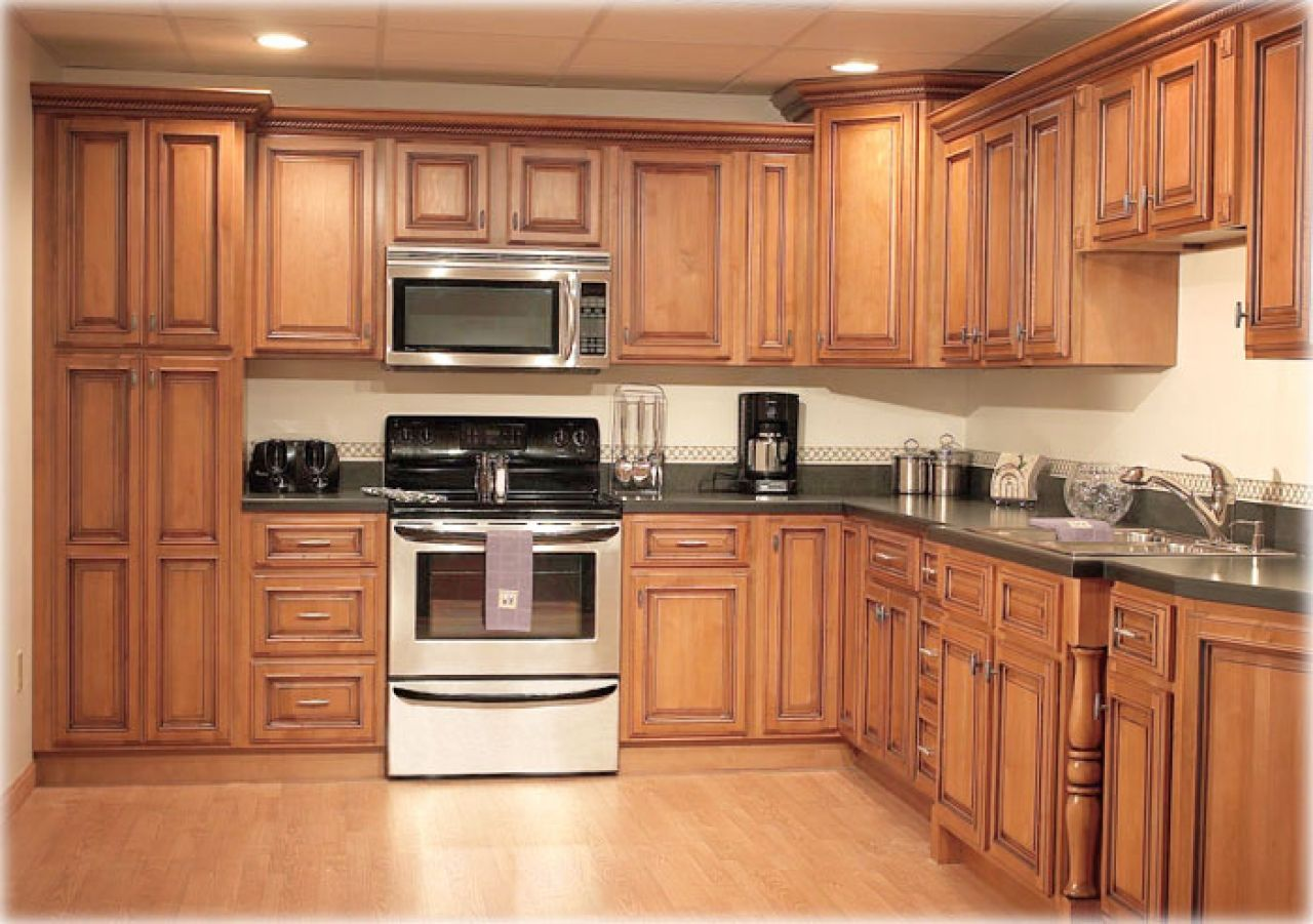 Superieur Fastews ~ Comfortable Decor Kitchen Cabinet. Leather Sectional .