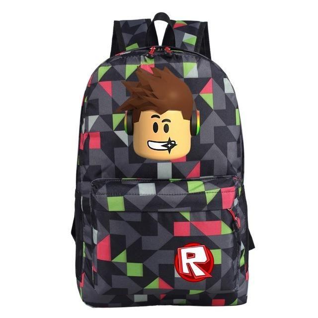 Game Roblox Backpack Unisex Travel Shoulder Bag Teenage Backpacks School Bags
