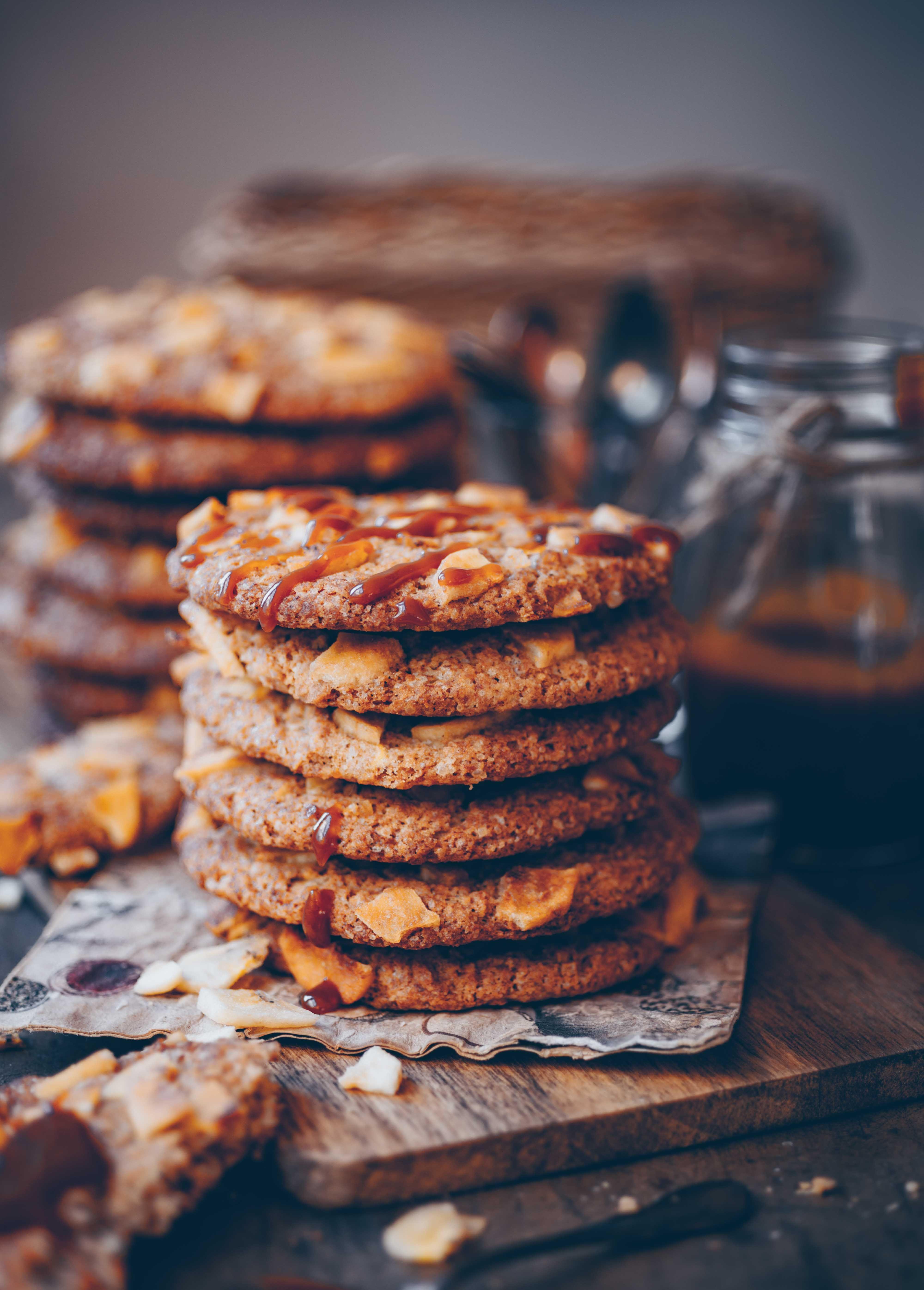 Banoffee Cookies Vegan