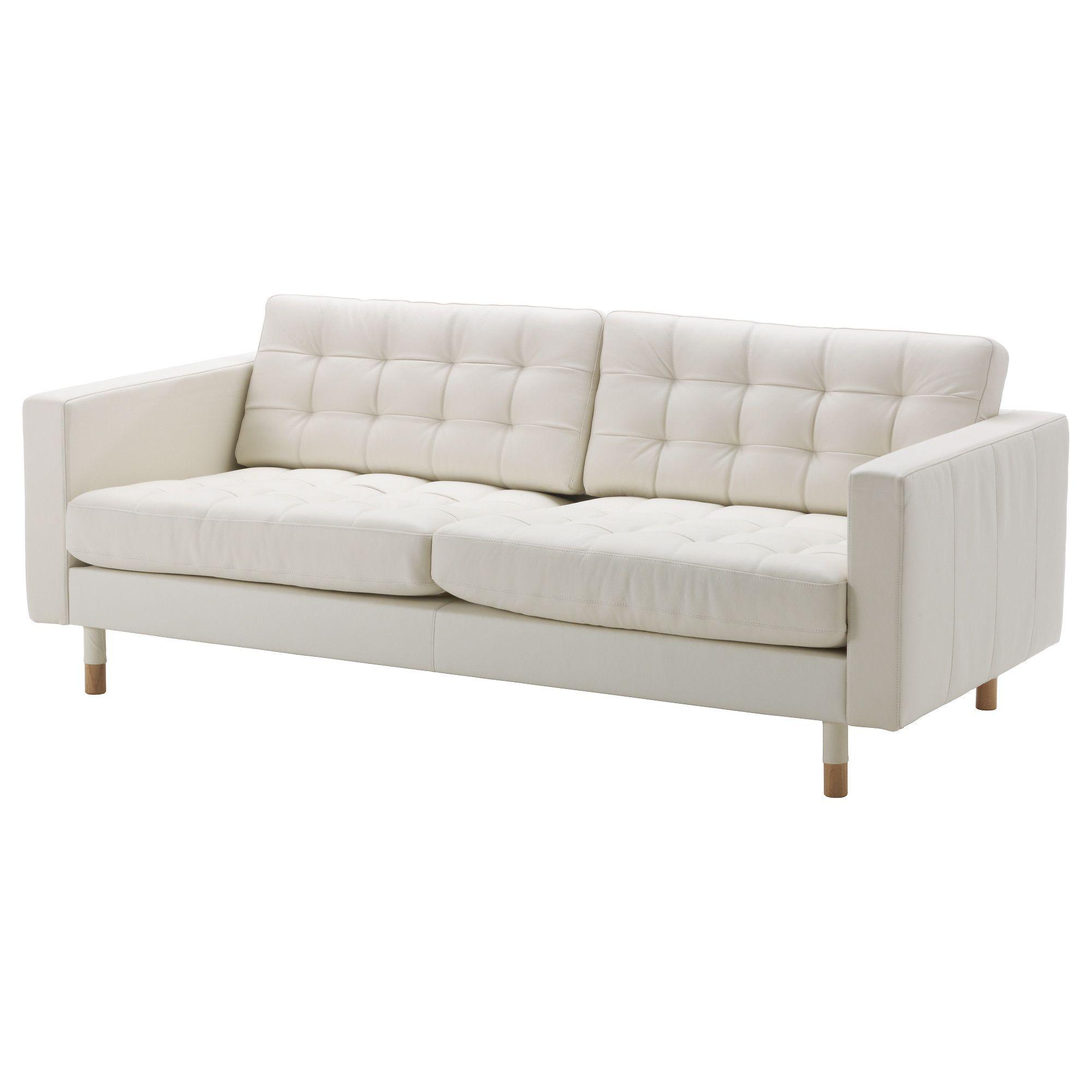 Mobilier Et Decoration Interieur Et Exterieur White Leather Sofas Landskrona Sofa Best Leather Sofa